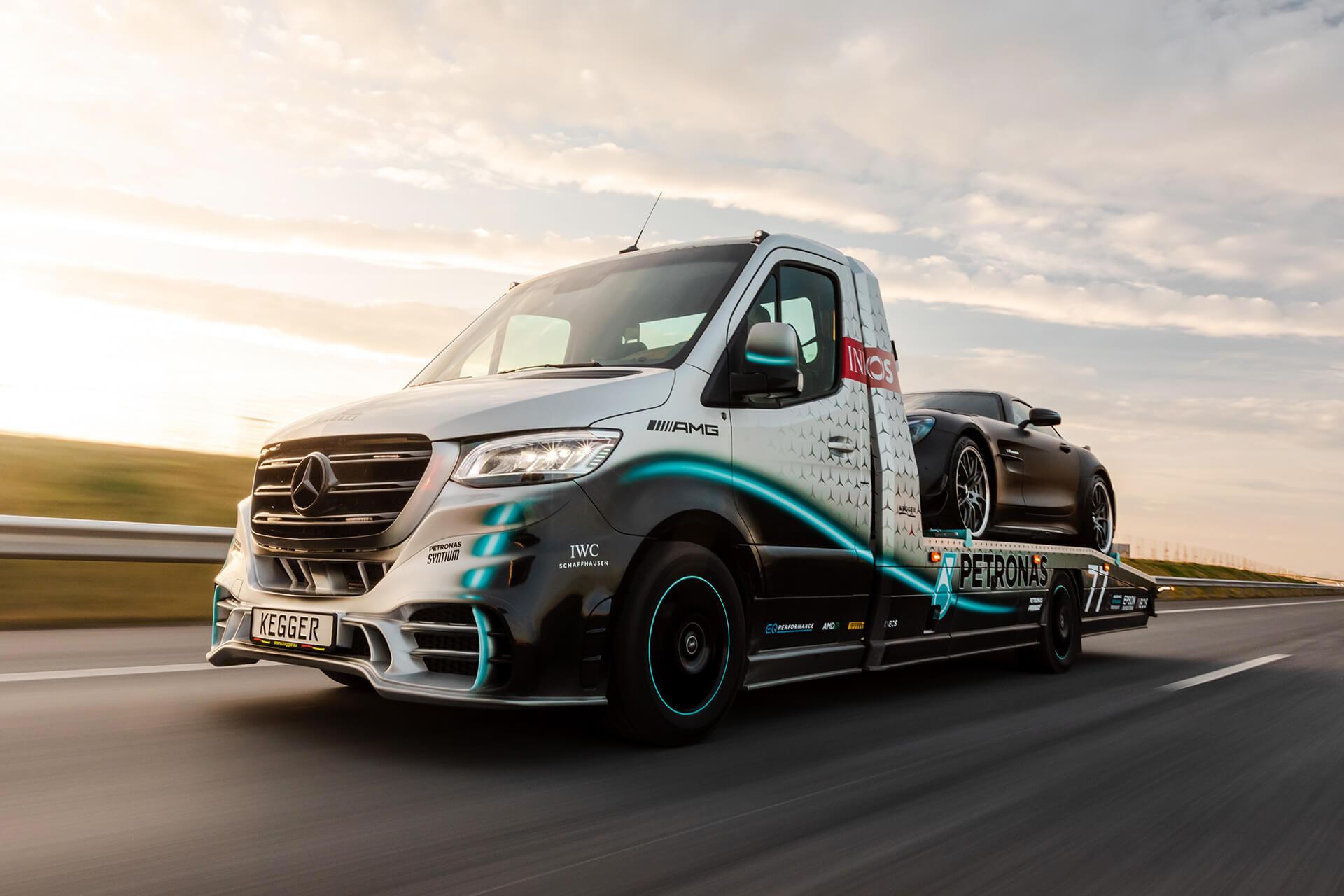 Foto de Mercedes Sprinter Petronas Edition (17/20)