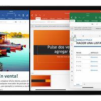 Microsoft actualiza su suite de ofimática para iPad: Word y PowerPoint ganan soporte para split view