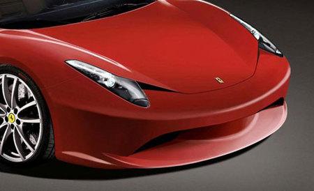 Ferrari F450 render