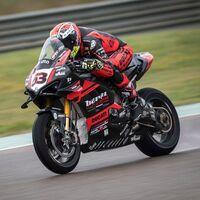 El duro debut de Tito Rabat con la Ducati Panigale V4 R: caída, avería y sin puntos en el estreno en Superbikes