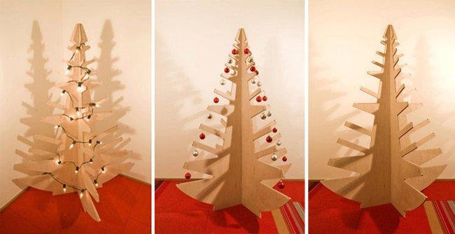 Otro rbol de navidad minimalista - Arbol de navidad de alambre ...