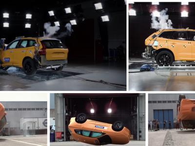 Volvo voltea su nuevo XC60 para mostrar en tres videos lo seguro que es su nuevo SUV