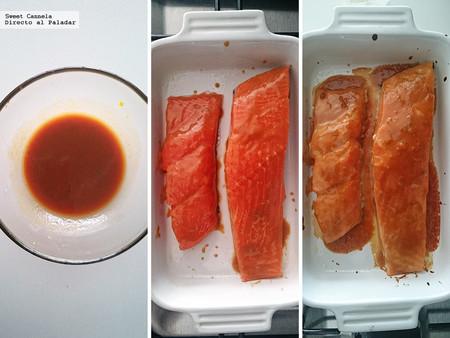 Salmon Glaseado Con Miso Y Naranja 17