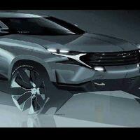 Un peculiar boceto sale a la luz, el Chevrolet Camaro en versión SUV eléctrica podría estar en desarrollo