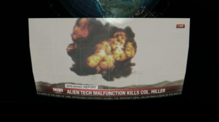 Esta imagen explica la ausencia del personaje de Will Smitt: murió durante unas pruebas militares