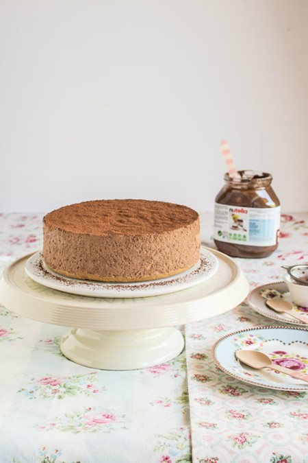 Tarta Mousse Nutella 1