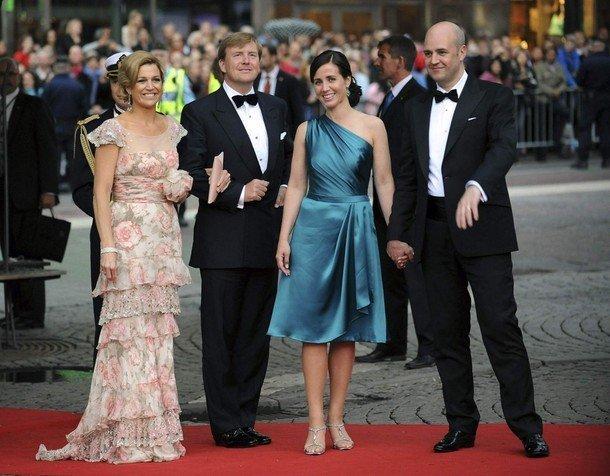 Boda de la Princesa Victoria de Suecia: Princesa Maxima