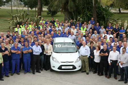 Ford España ha fabricado el coche 10 millones