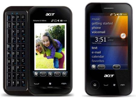 Acer neoTouch P400 y P300, productividad con Windows Mobile