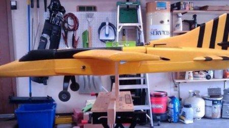 WASP, el avión a escala que piratea redes WiFi y telefónicas