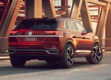 Volkswagen Atlas Cross Sport Concept 2018 1280 04