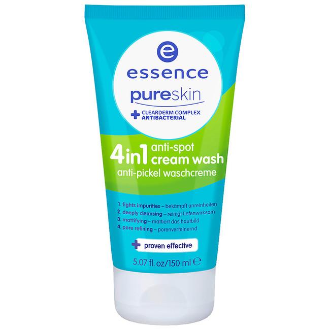 Essence Pure Skin Anti Spot 4in1 Cream Wash