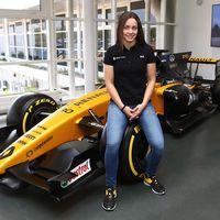 La piloto española Marta García se hace con un puesto en la Renault Sport Academy