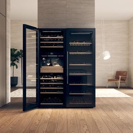 ASKO anuncia una vinoteca inteligente: permite conservar hasta 189 botellas de vino y controlarla en su pantalla táctil