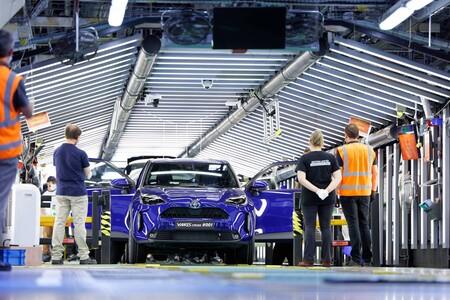 Produccion Toyota Yaris Cross 2