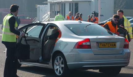 Volvo se impone a Mercedes y Honda en tecnología de frenado automático