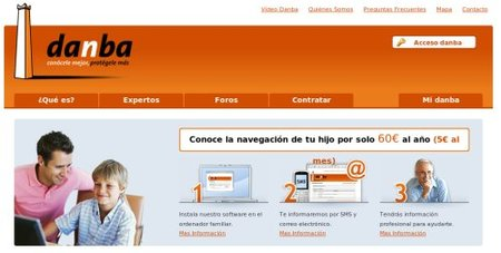 Danba, nuevo servicio web de vigilancia en Internet