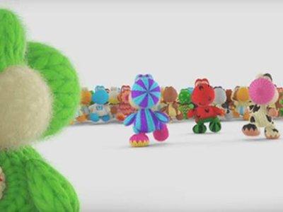 El encantador universo de Yoshi's Woolly World se muestra en su nuevo video