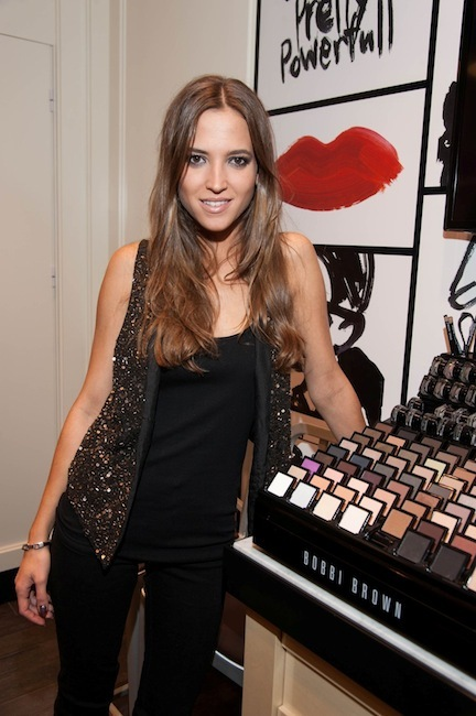 Bobbi Brown inaugura Studio en Madrid rodeado de celebrities