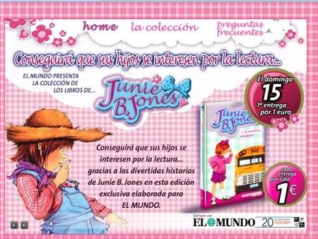 Los libros de Junie B. Jones por solo 1 euro con El Mundo