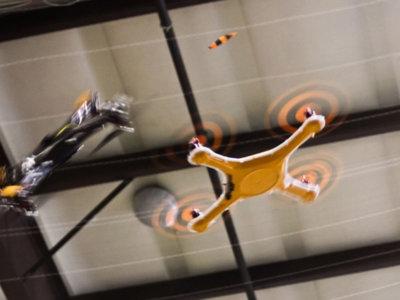 El dron que ha patentado Twitter se controla con tuits