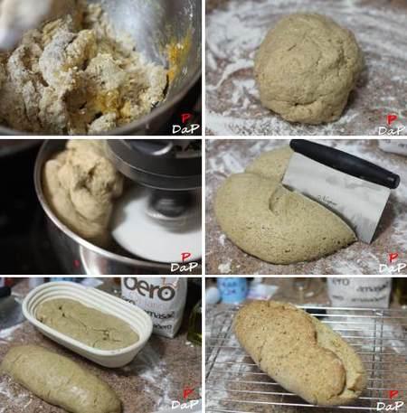 Pasos para hacer pan integral con miel