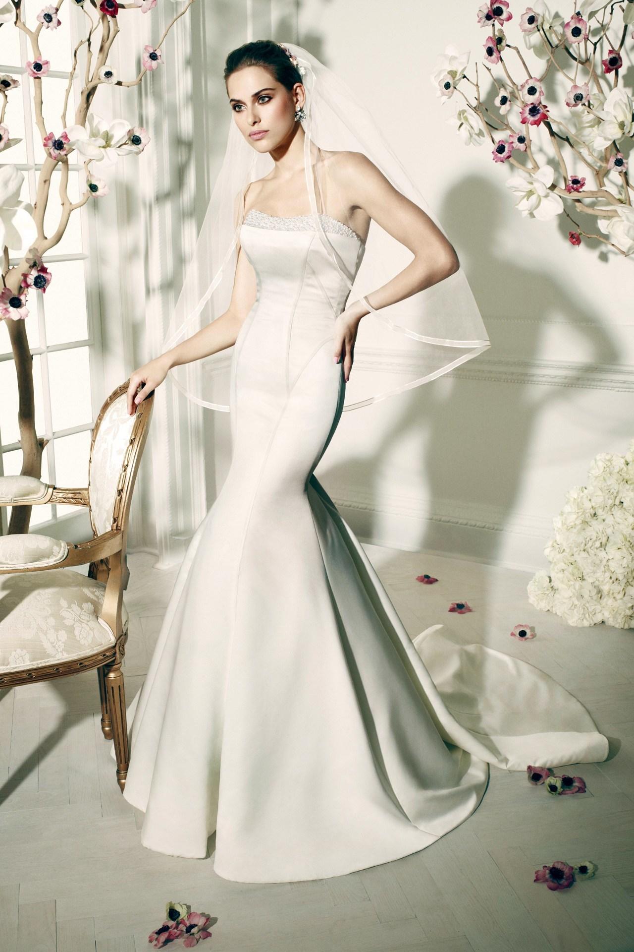 Foto de Zac Posen para David's Bridal colección novias Primavera-Verano 2014 (1/10)