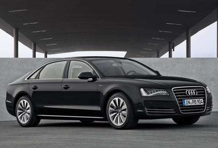 Audi A8 L hybrid, ahora también A8 híbrido con carrocería larga