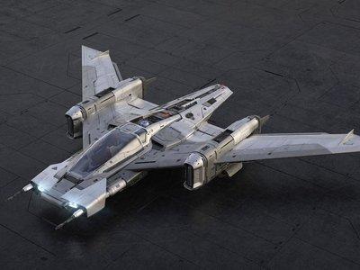 Ahora sí, Porsche termina la nave espacial que veremos en la próxima película de Star Wars