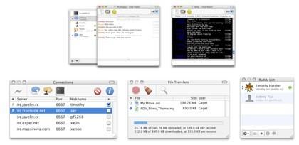 Colloquy: Chats IRC y SILC con interfaz elegante