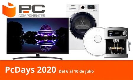 Las ofertas del día en los PcDays 2020 de PcComponentes: smart TVs, barras de sonido, secadoras, robots aspirador o cafeteras a los mejores precios