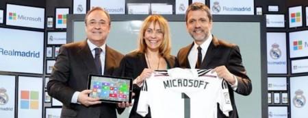 ¿En qué consiste el acuerdo entre Microsoft y el Real Madrid?
