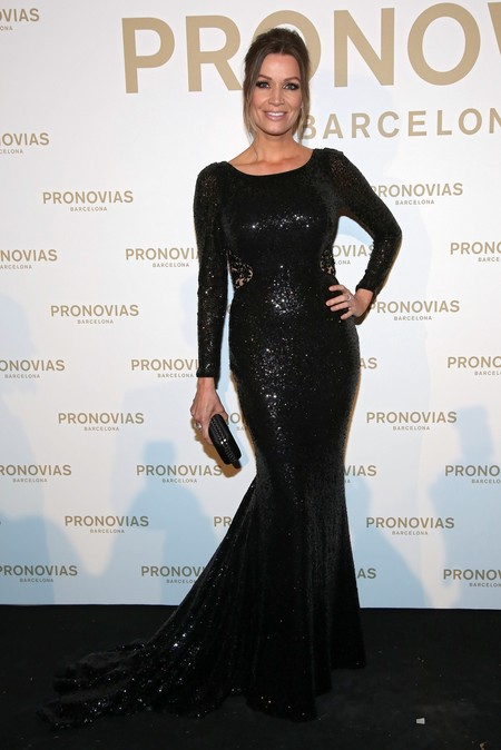 Nicole Kimpel Photocall Pronovias Fashion Show
