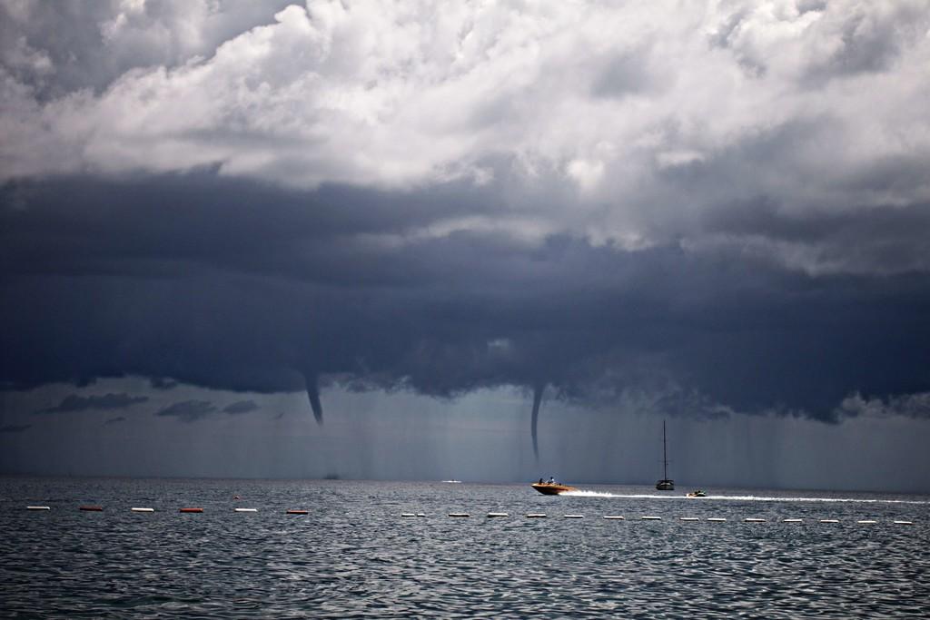 Tornados en Ibiza: sí, las 'gotas frías' también pueden formar remolinos de viento y pillarnos fuera de juego en un momento