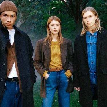 Pull & Bear lo tiene claro: este otoño 2019 se llevan las prendas de abrigo a cuadros (y con un toque vintage)