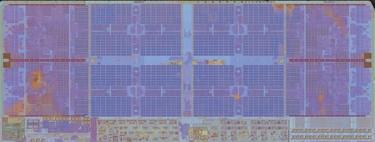 Esta impresionante gigafoto de AMD Zen 2 a nivel microscópico parece el mapa de una gran ciudad