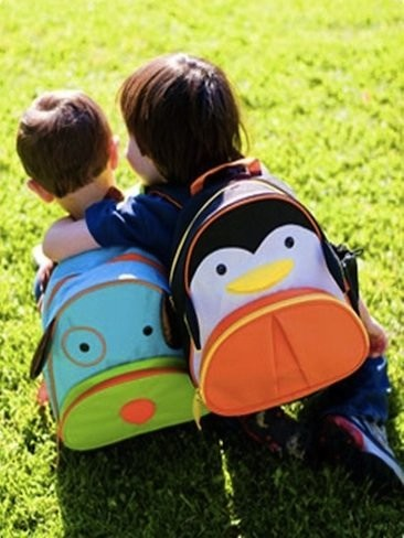 Originales mochilas con forma de animal