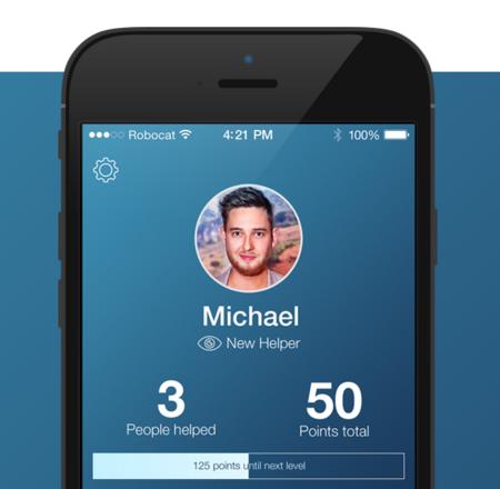 Sé los ojos de una persona invidente con esta aplicación para ayudarles a resolver problemas