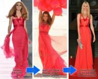 Vestido de Versace: ¿Claudia o Jessica?