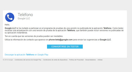 Teléfono de Google beta ya disponible: apúntate para probar las novedades antes que nadie
