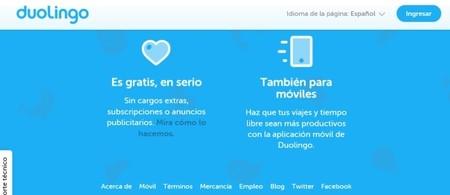 Duolingo, aprender inglés con una aplicación para móviles y ordenadores