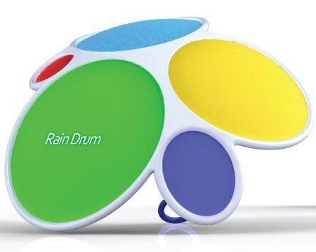 Rain Drum, un paraguas convertido en un instrumento de percusión