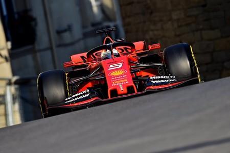 Sebastian Vettel Baku Formula1 2019