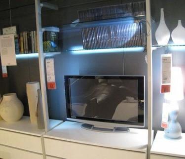 Nueva tendencia: muebles iluminados con LEDs