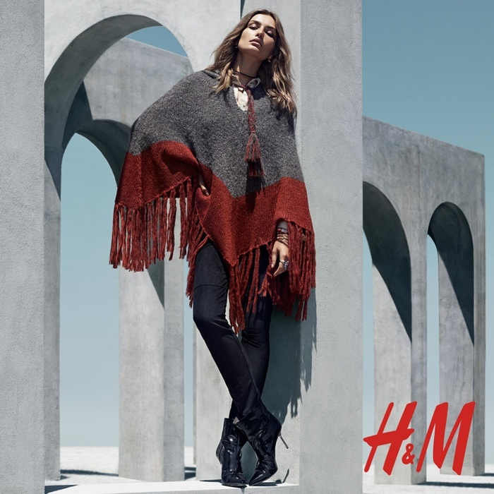 Foto de H&M catálogo Otoño-Invierno 2015 con Andreea Diaconu (2/6)