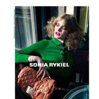 Constance Jablonski es la reina del tricot, campaña Otoño-Invierno 2011/2012 Sonia Rykiel