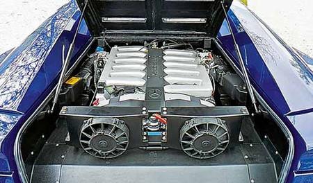 Mega Track V12 Mercedes