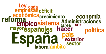 Discurso Rajoy 2011