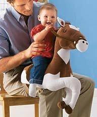 Po-Knee: montar a caballo sobre las faldas de papá