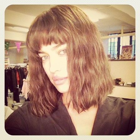 Corte de pelo al canto, adiós a la melena de Irina Shayk